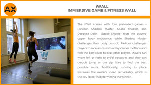 iwall fitness gaming