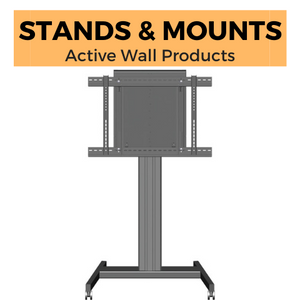 Active Game Wall Monitor Mobile Stands and Wall Mounts