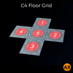 C4 Interactive Fitness Tile