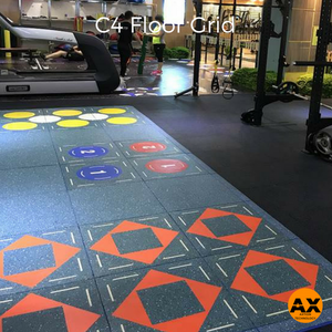 Interactive Floor Fitness Game