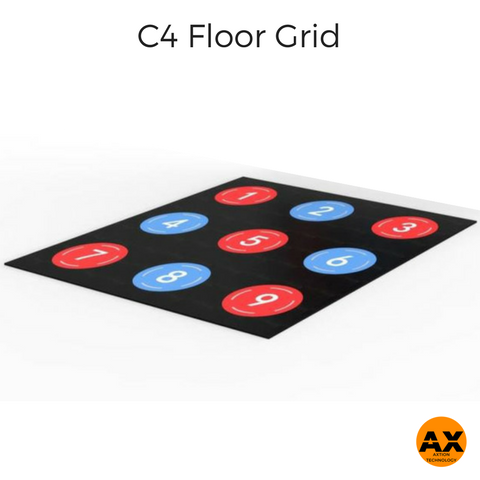 C4 Fitness Floor Grid