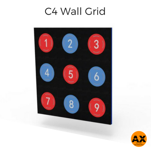 C4 Fitness Wall Grid