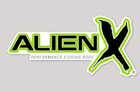ALIEN X Rods Decal