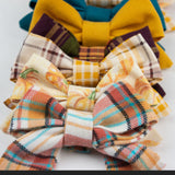 Fall Plaid Bow