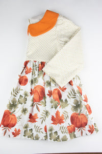 Collared Pumpkin Dress