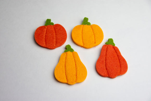 Pumpkin Clips and Headbands