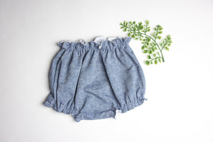 Denim Chambray Bloomers