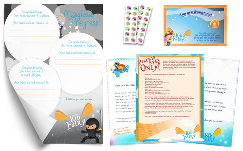 The Kid Fairy Letter Ninja