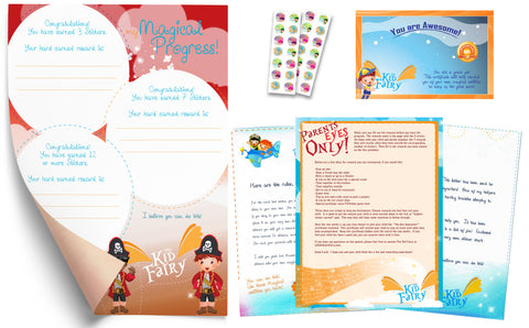 The Kid Fairy Letter Pirate