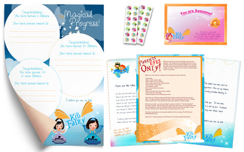 The Kid Fairy Letter Princess