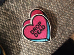 Drop Dead heart patch