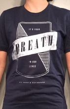 Breath Tee - Navy
