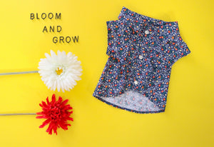 Blue Bloom Shirt