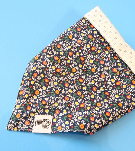 Blue Bloom Bandana