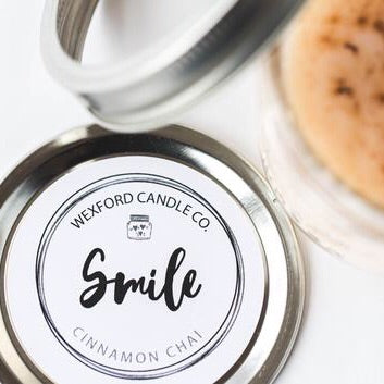 Smile Scented Soy Candle - Zoe's Handmade Planet