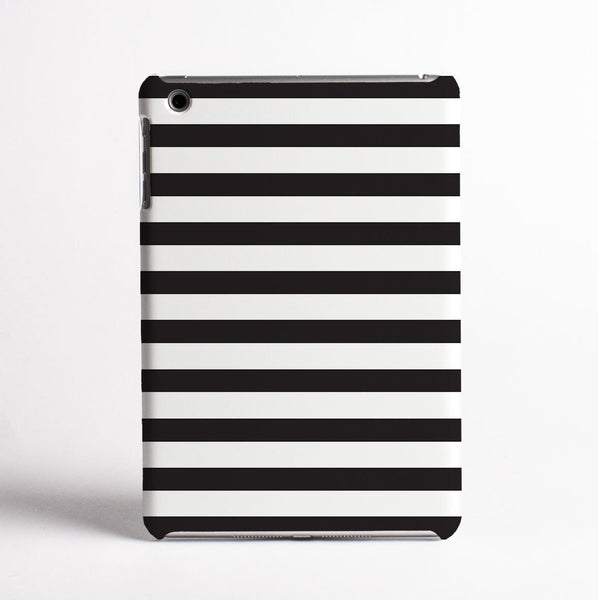 Black and White Stripes - Tablet Case