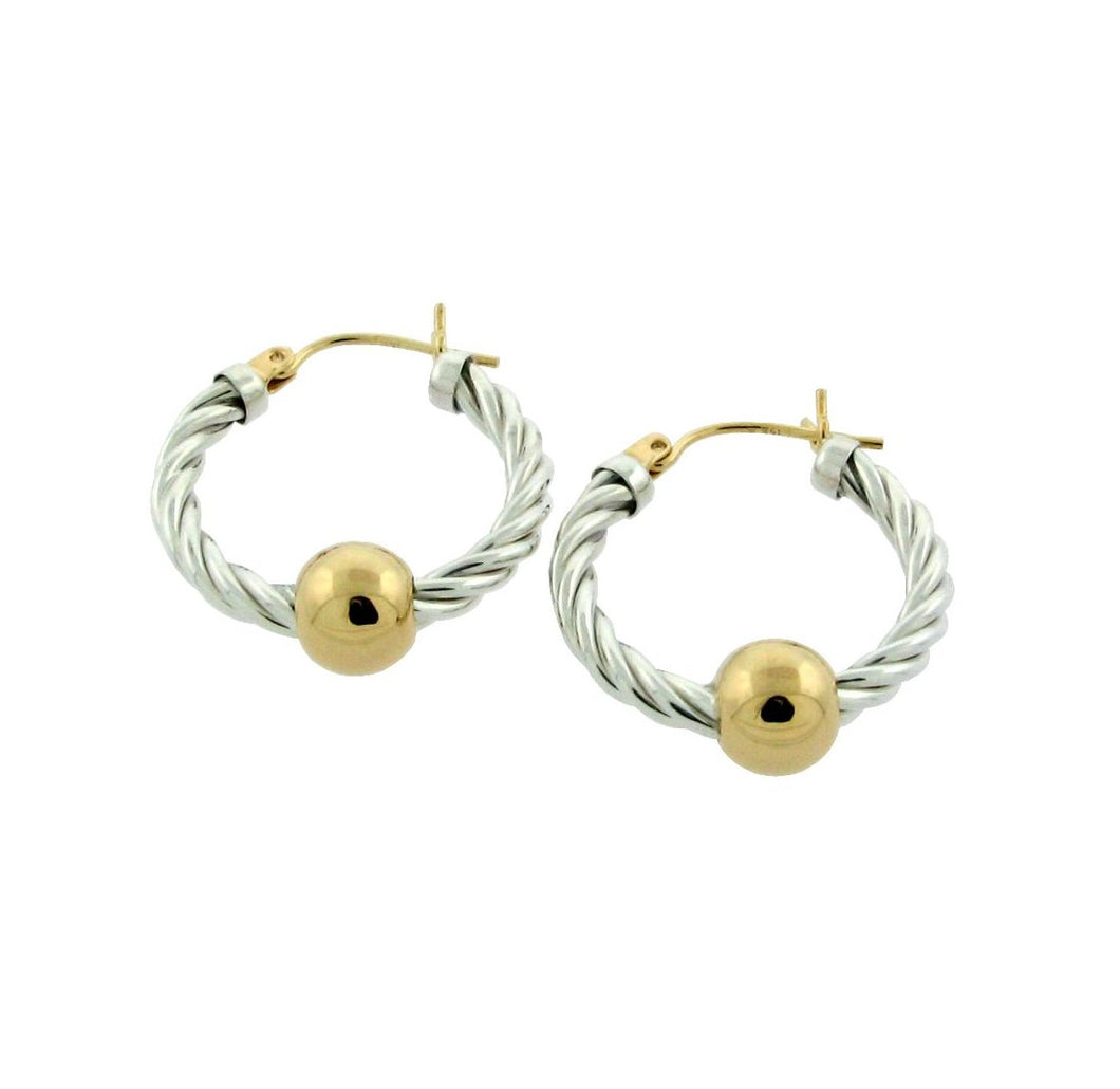Cape Cod Twisted Hoops