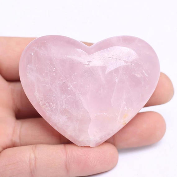 Heart Shaped Rose Quartz Pipe • Crystal Healing Bowl - lucidskins