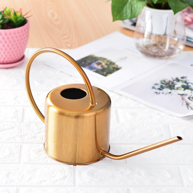 Copper Watering Can • Mod Home Plant Care - lucidskins
