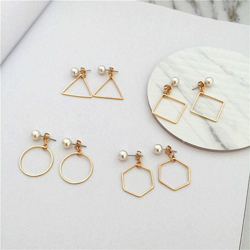 Kit • Minimal Shape Geometric Earrings