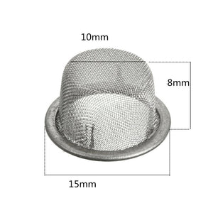(5) Stainless Steel Replacement Metal Filter Pipe Screen - lucidskins