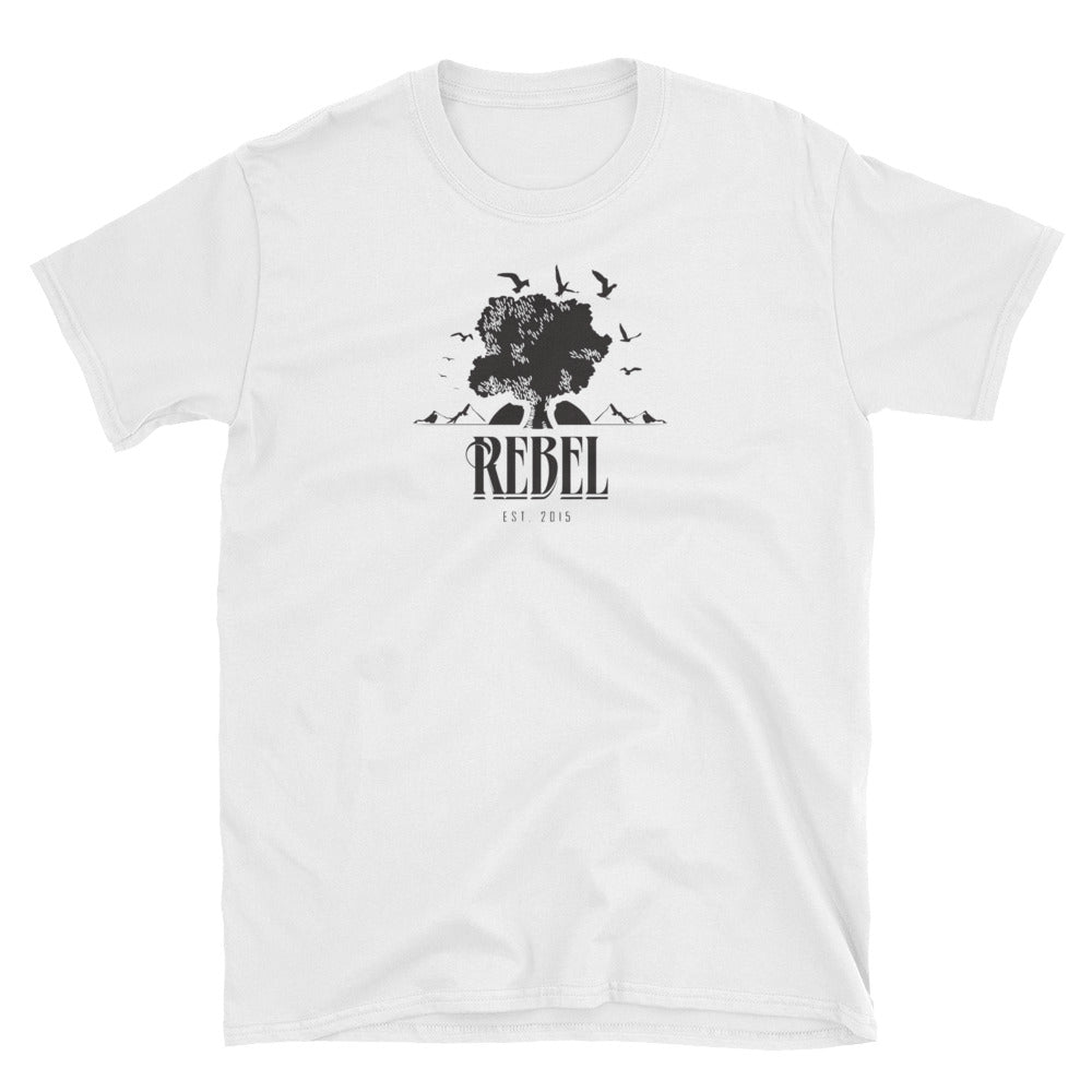 Rebel Graphic T-Shirt White