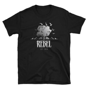 Rebel Graphic T-Shirt Black
