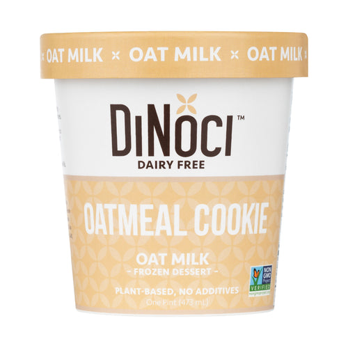 Oat meal cookie oat milk frozen dairy desert