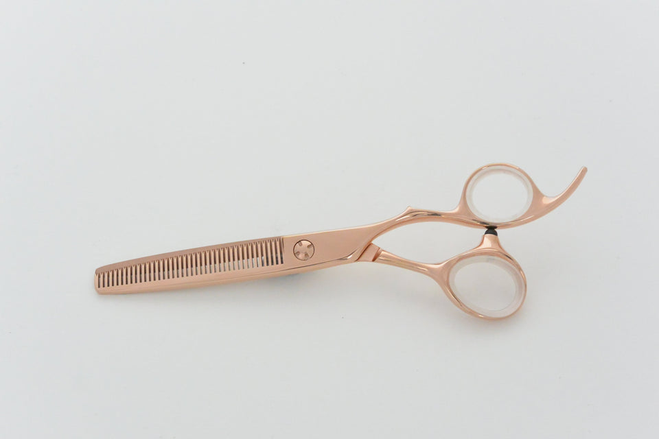 Matsui Rose Gold Offset Scissors & Thinner Combo