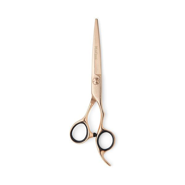 2019 Rose Gold Damascus Offset Scissor Thinner Combo