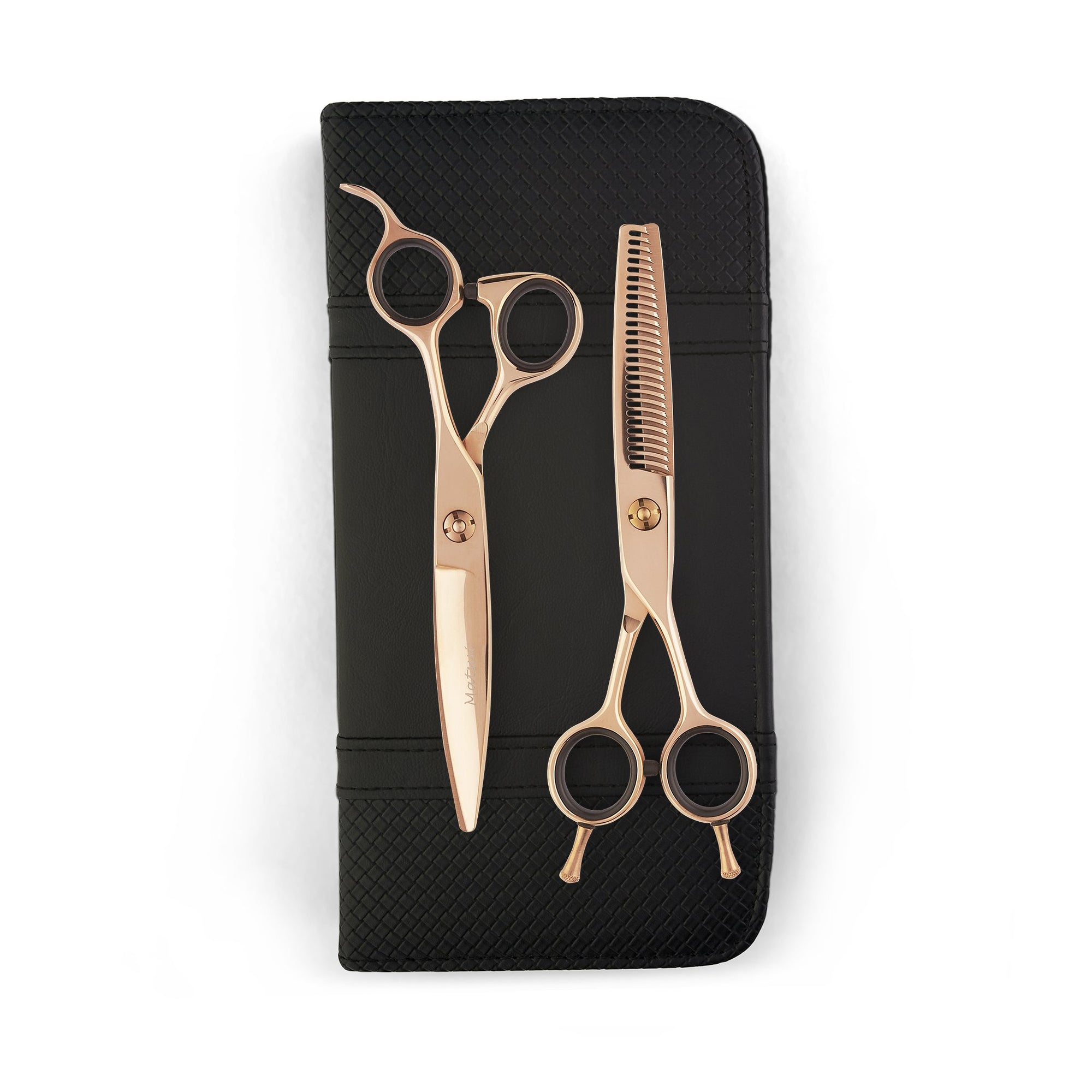 Matsui VG10 Slider Scissor Thinner Combo - Rose Gold (4682374414419)