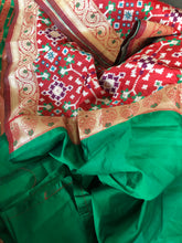 Soft Silk Patola  - Red Green