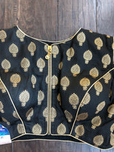 Saree Blouse - Black Cold Shoulder