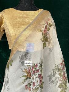 Designer Blouse - Golden Brocade