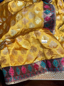 Designer Soft Silk - Golden Ochre Yellow