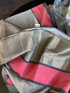Maheshwari - Light Brownish Grey