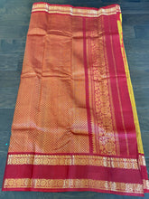 Gadwal SICO - Mustard Yellow Red