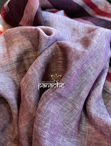 Linen Handloom - Light Wine Body