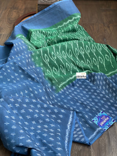 Pure Telia Cotton  - Green Blue