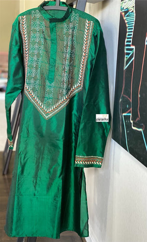 Kurta Men - Dark Green Size L 40