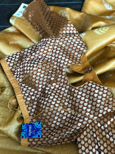 Designer Blouse - Brown Paisleys