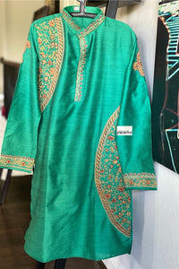 Kurta Men - Sea Green Size M 38