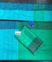Tussar Silk -  Light Green Mint Green