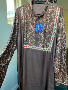 Kurta Men - Mocha Brown Size 2XL 44
