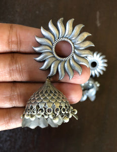 Jewelry Earring - Jhumka Sunflower