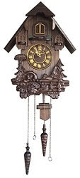 Black Forest Wooden Cuckoo Clock