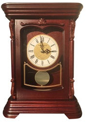 Wood Mantel Clock Pendulum with Westminster Chime