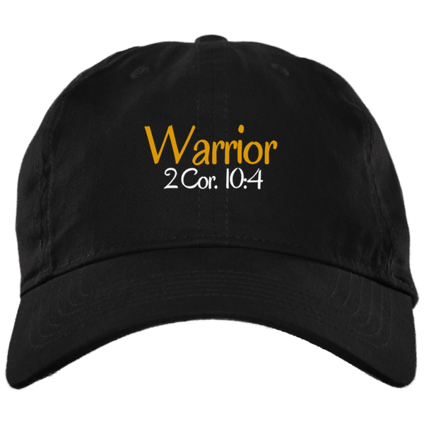 Warrior 3 BX001 Brushed Twill Unstructured Dad Cap