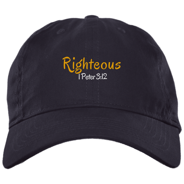 Righteous 3 BX001 Brushed Twill Unstructured Dad Cap
