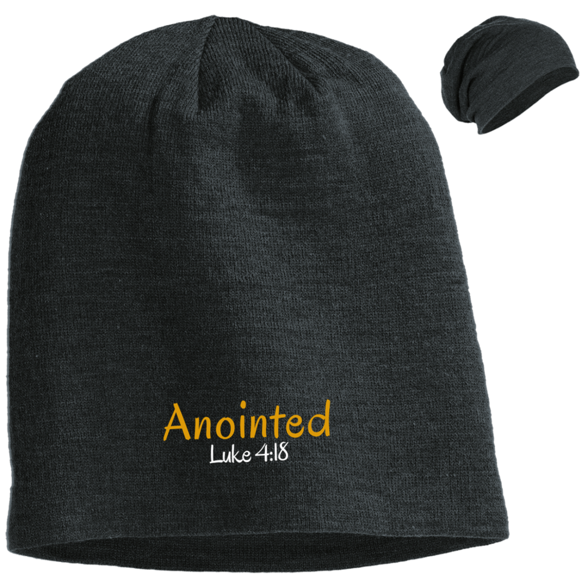 Anointed 3 DT618 District Slouch Beanie